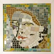 Quadro, mosaico em pastilha.