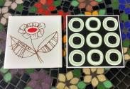 Mosaico em Pastilha.