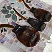 Mosaico 23 - Porta-chaves em Vidro