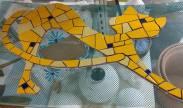 Mosaico em Cerâmica.