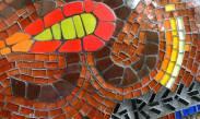 Mosaico em Vidro
