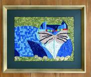 Mosaico em Smalti Italiano