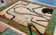 Lydia: Mosaico em Vidro