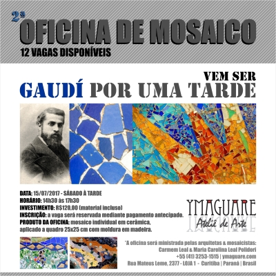 YMAGUARE - Flayer Ofinica Gaudi 15-07-2017