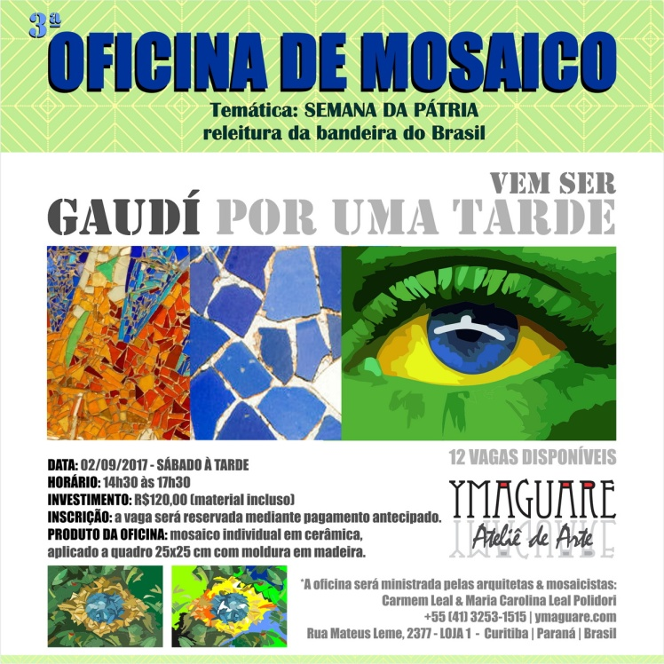 YMAGUARE - Flayer Ofinica Gaudi BANDEIRA 02-09-2017 B_resize