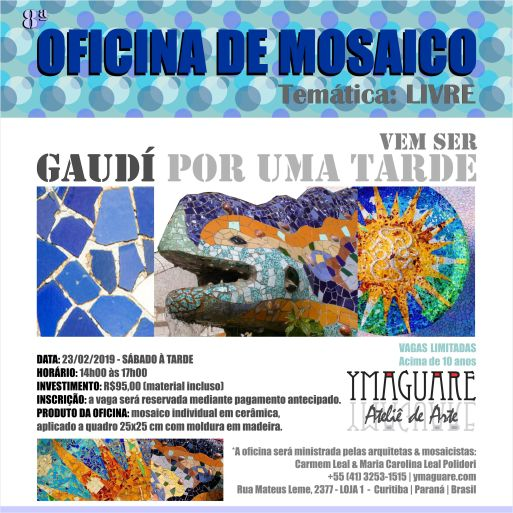 YMAGUARE - Flayer 8 Ofinica Gaudi 23-02-2019